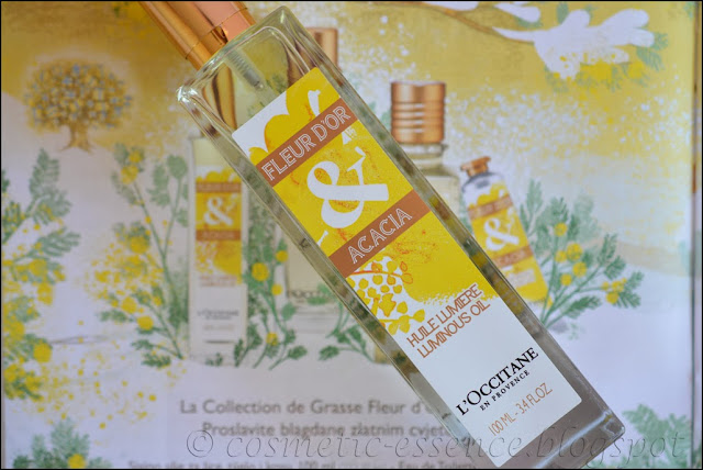 L'Occitane Fleur d'Or & Acacia Luminous Body Oil