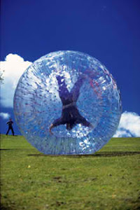 Grass Zorb Balls Hire For Corporate Party