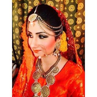 Fatima Mangi Bridal pics