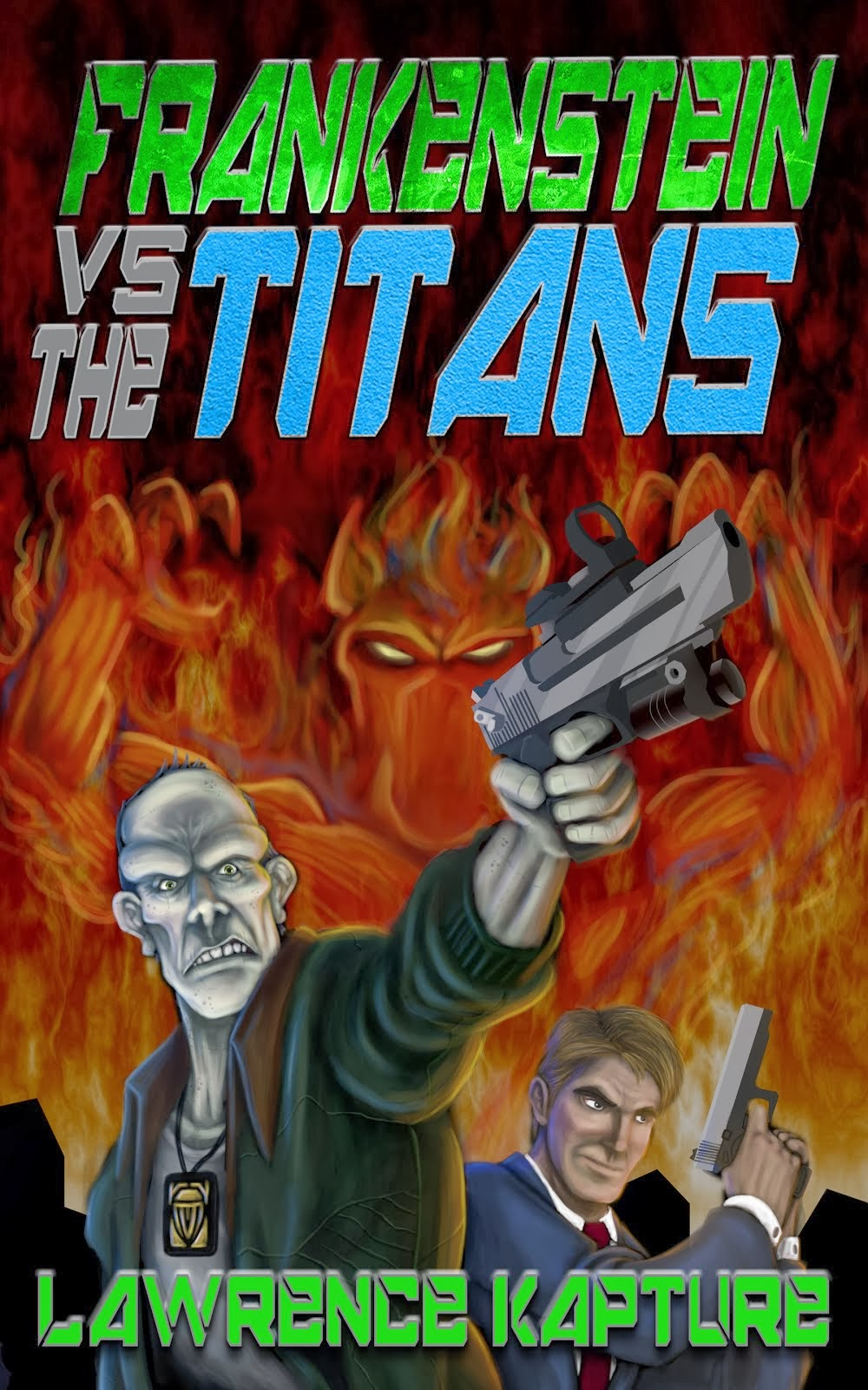 My novel: Frankenstein Vs. The Titans