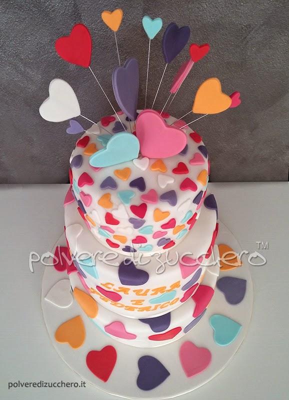 cake art wedding cake torta nuziale pasta di zucchero polvere di zucchero