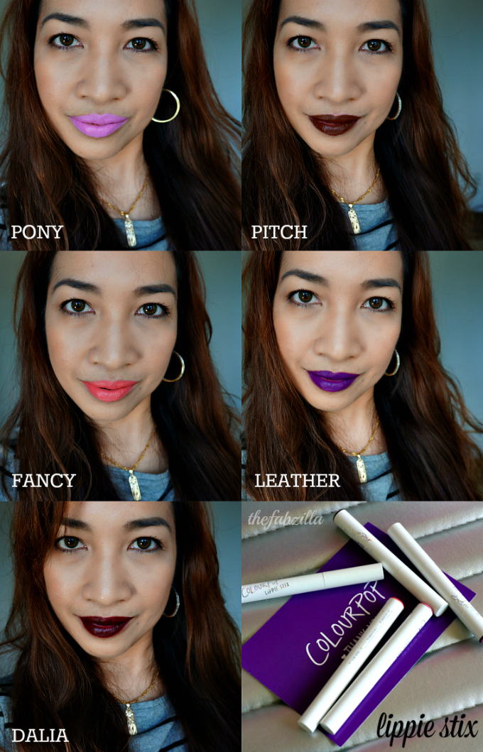 Colourpop Lippie Stix, Review, Swatch, Holiday Gift Guide