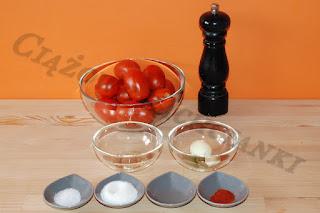 Składniki domowego ketchupu