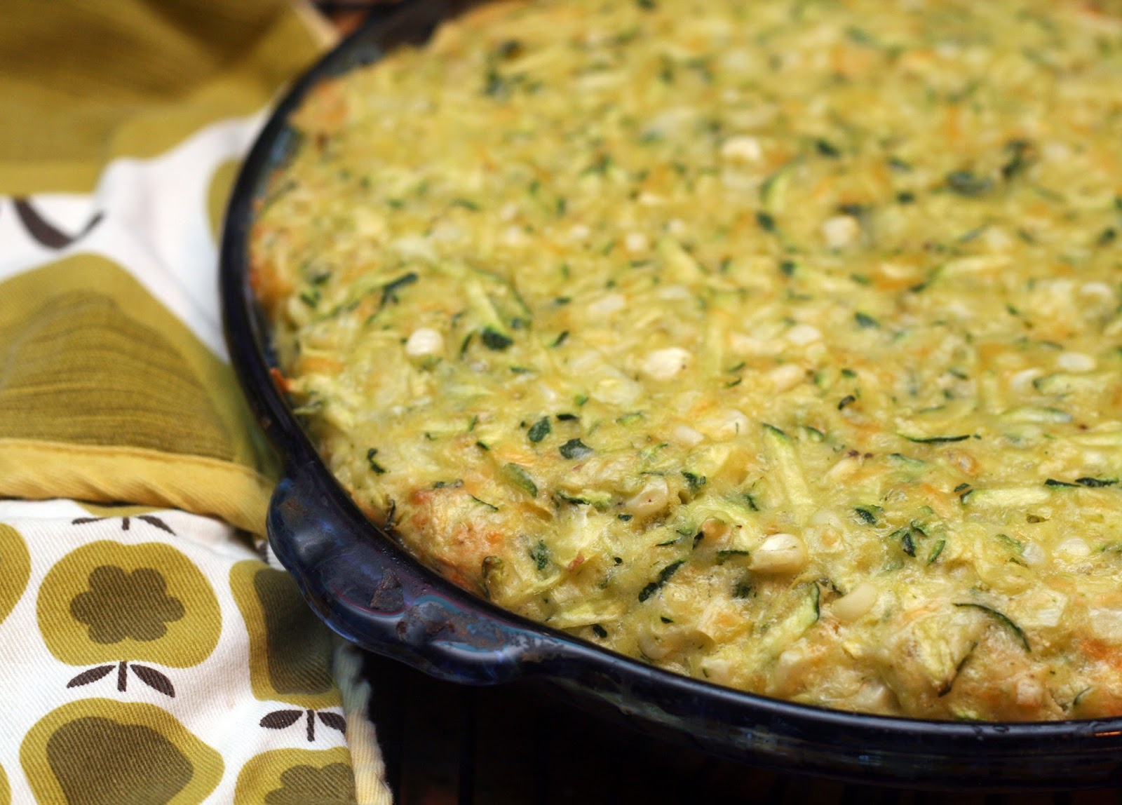 Recipes by Rachel Rappaport: Old-Fashioned Zucchini Corn Pie