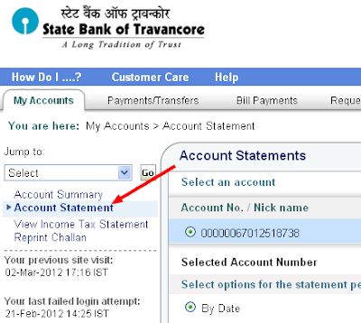 Online share trading account sbi statement