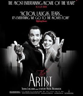 Cartel de la película The Artist, premiada por el gremio de productores