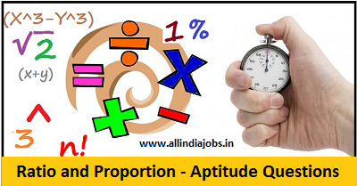 Ratio and Proportion - Aptitude Questions and Answers