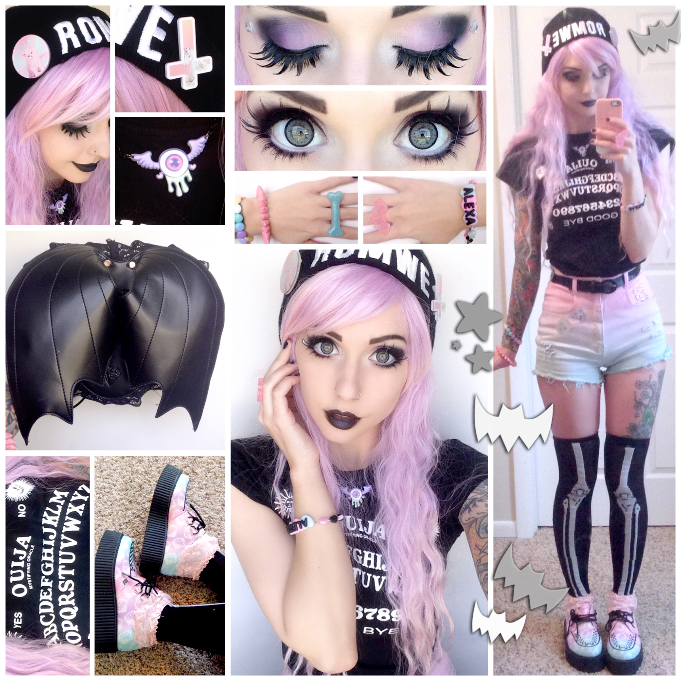 Alexa S Style Blog ♡ Pastel Goth Daily Style Post