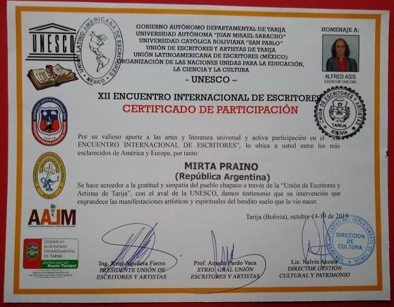 XII Encuentro Internacional de Escritores