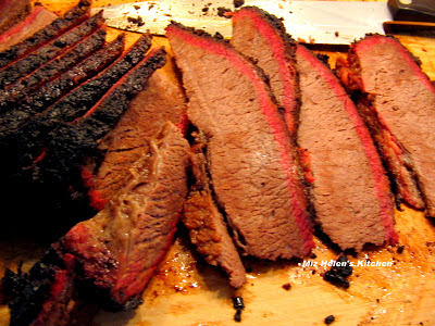 Smoked Texas Brisket