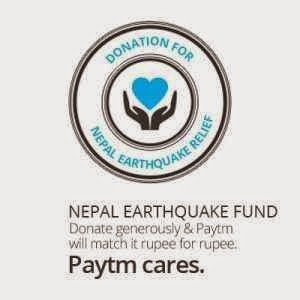 Help Nepal campaign by Paytm, shopclues, facebook and others : Buy To Earn