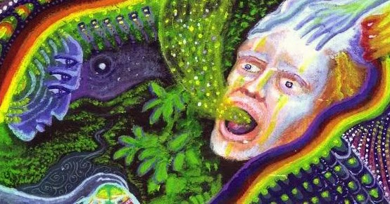 DMT Art : 40 Visionary Paintings Inspired by DMT