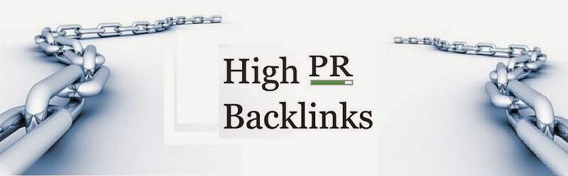 Cara mendapatkan backlink dofollow high PR.