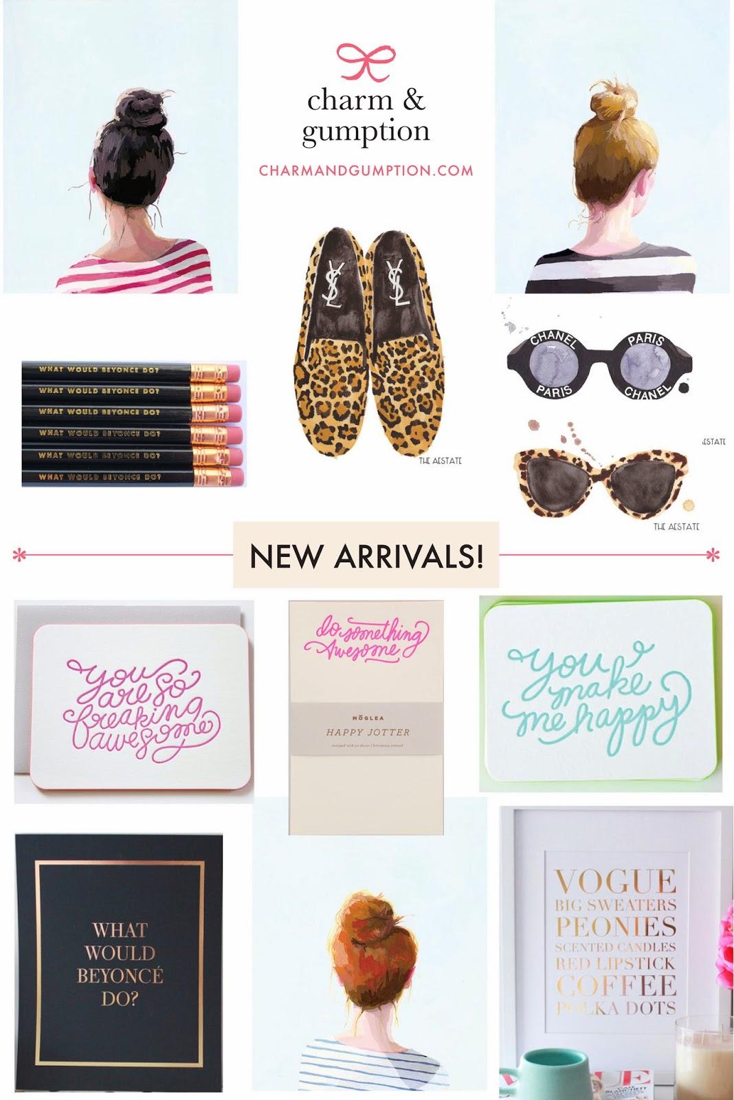 new arrivals | charmandgumption.com