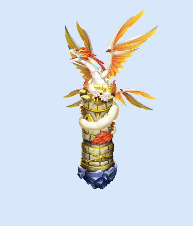 Dragon City: Dragon Guardião da torre ~ DC Bugs Diarios