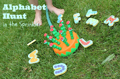 Splish Splash Alphabet Hunt-Summer Camp at Home Week