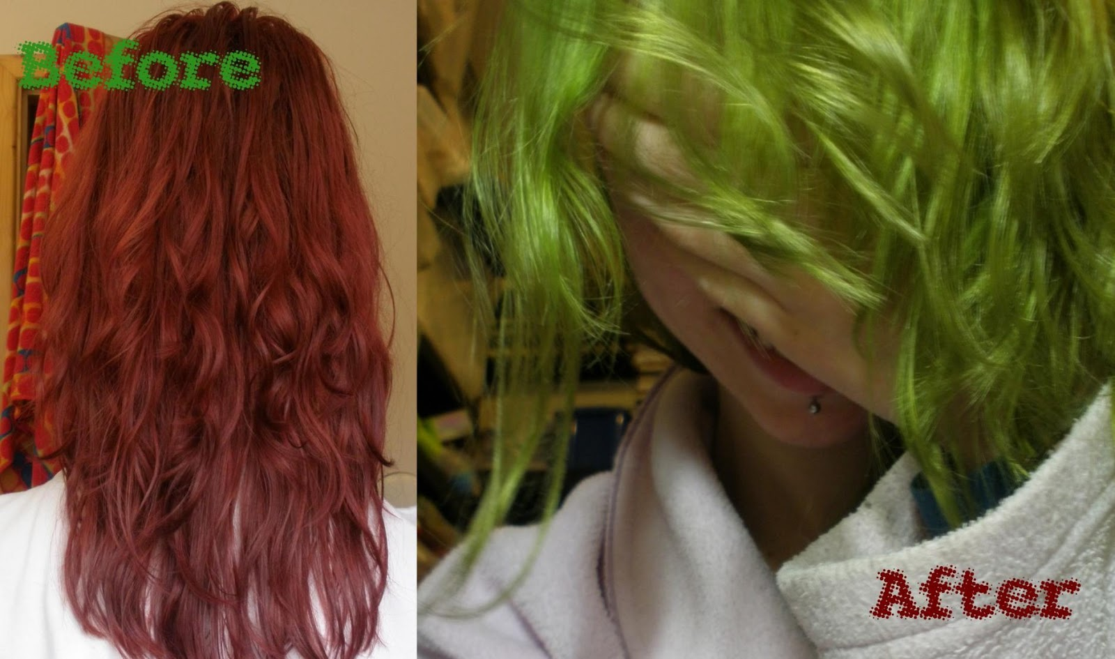 My Hair Disaster How My Hair Went Green Chloes Here