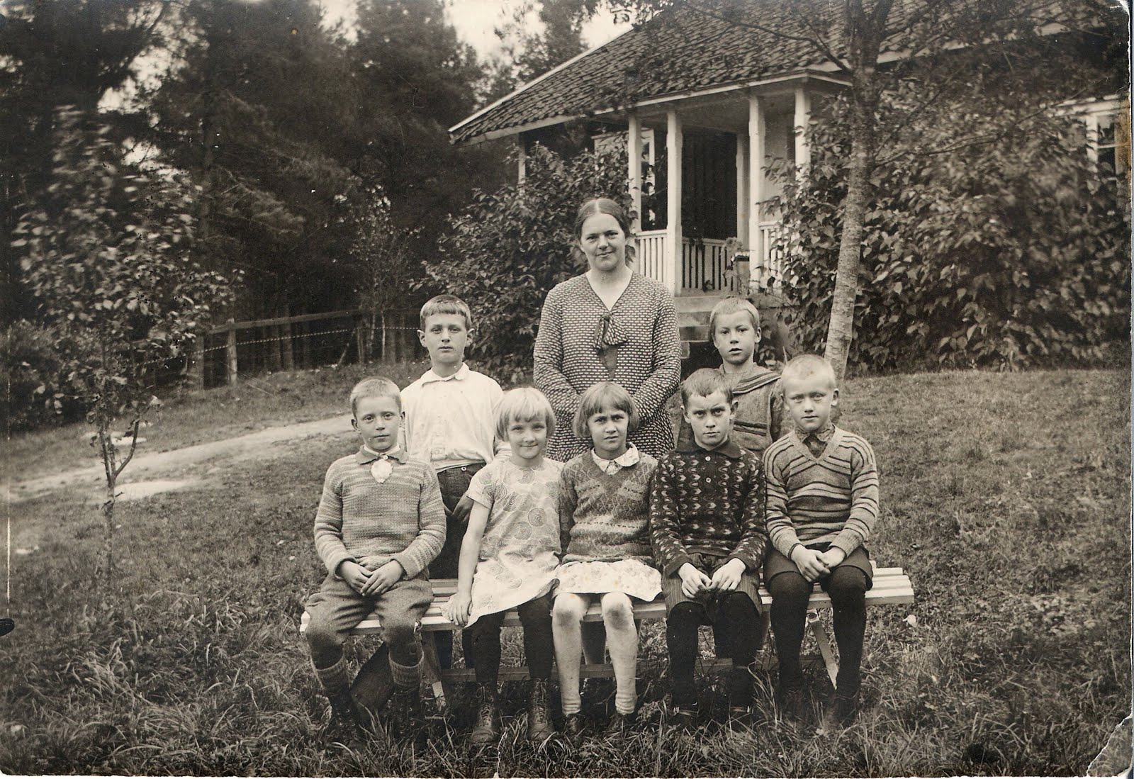 svensk skolfoto