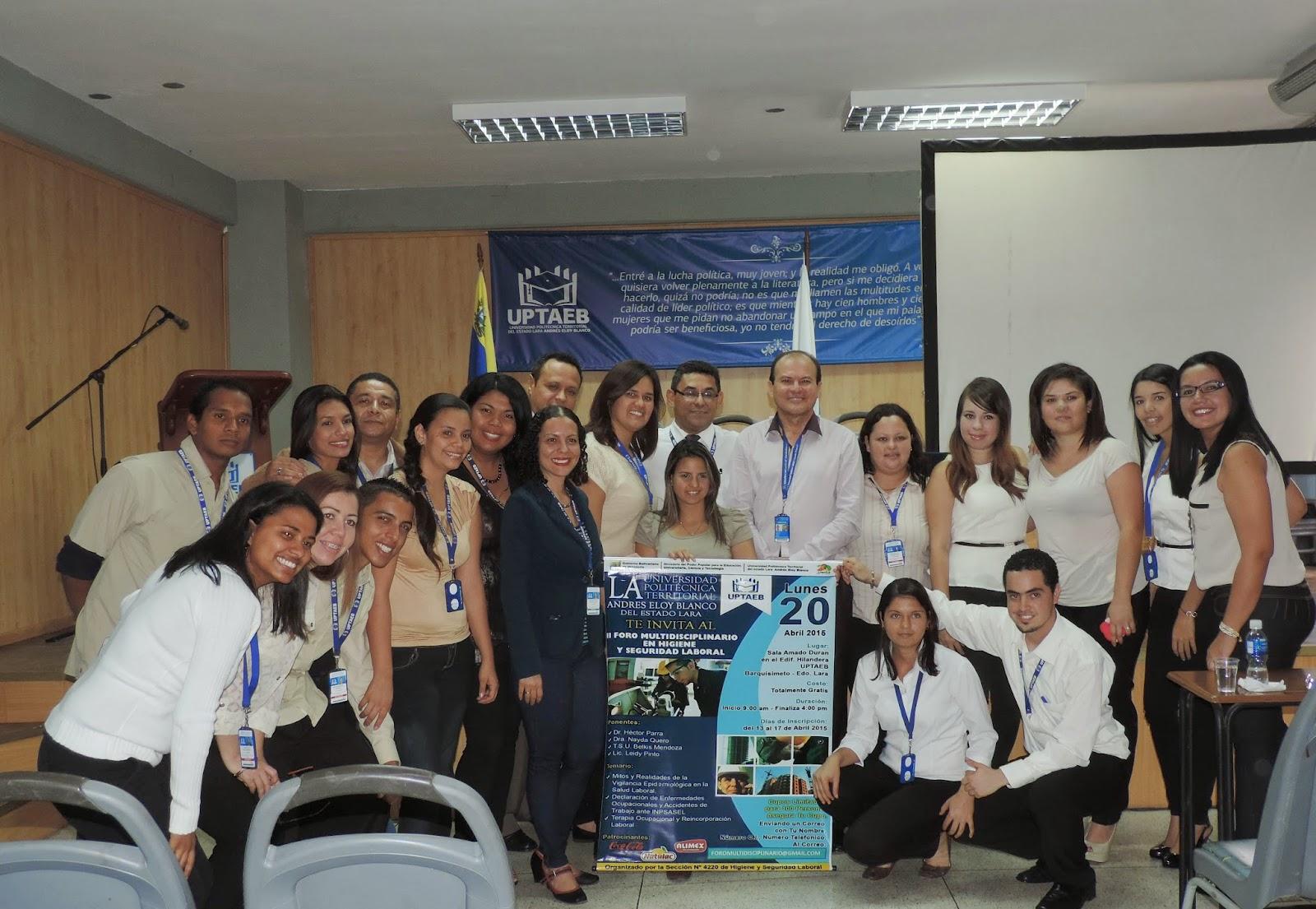 Dr Hector Parra, Ponente, Foro Multidisciplinario,Higiene y Seguridad Laboral