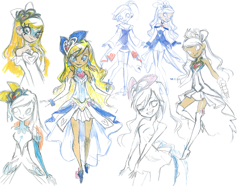 magic lolirock lolirock original concept artworks