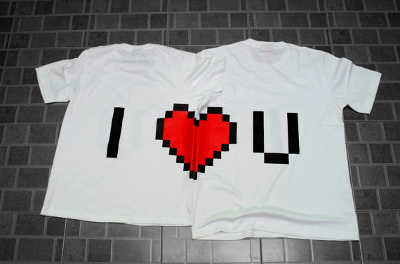 Couple Shirt Design Psd