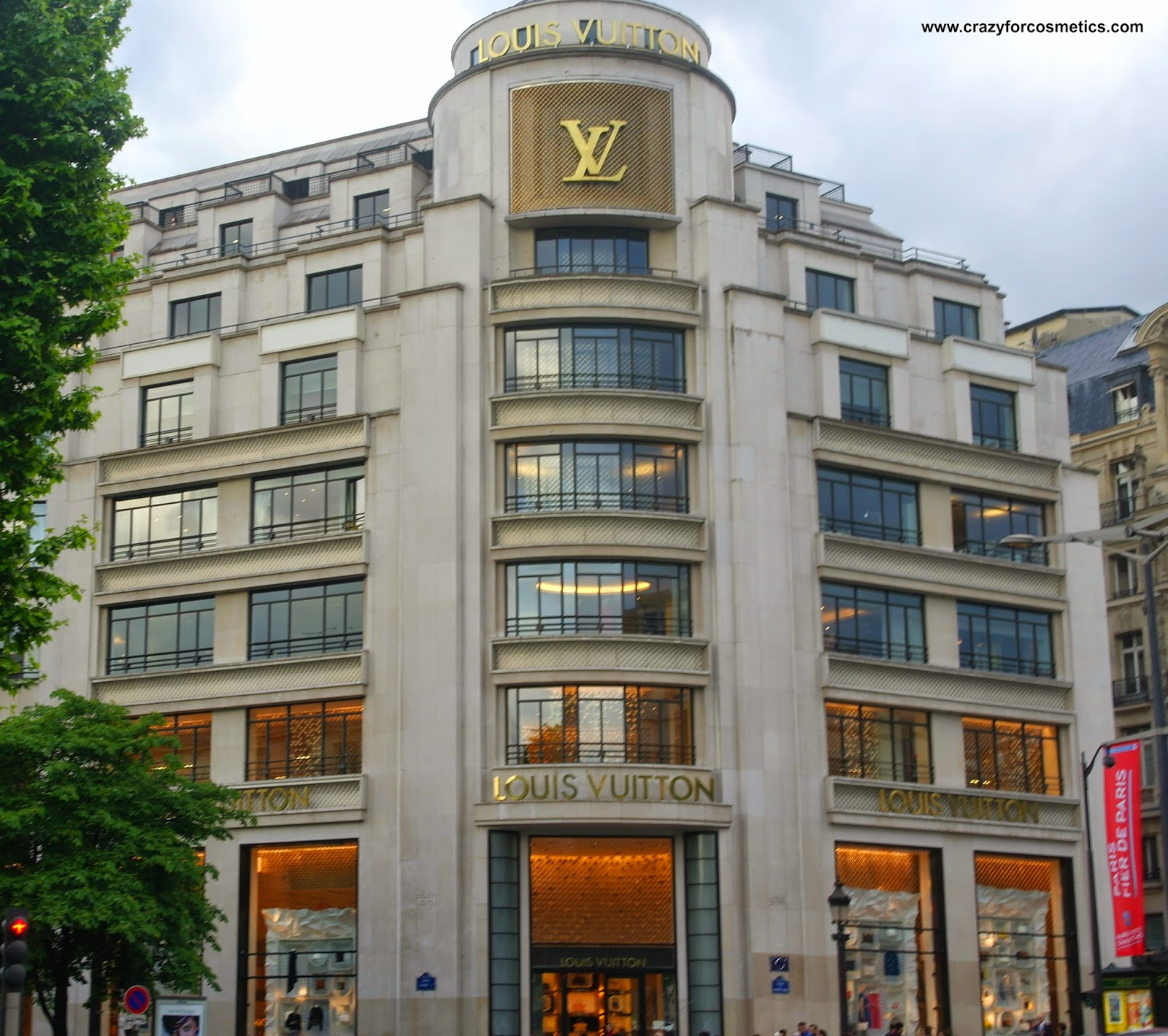 louis vuitton champs elysees paris