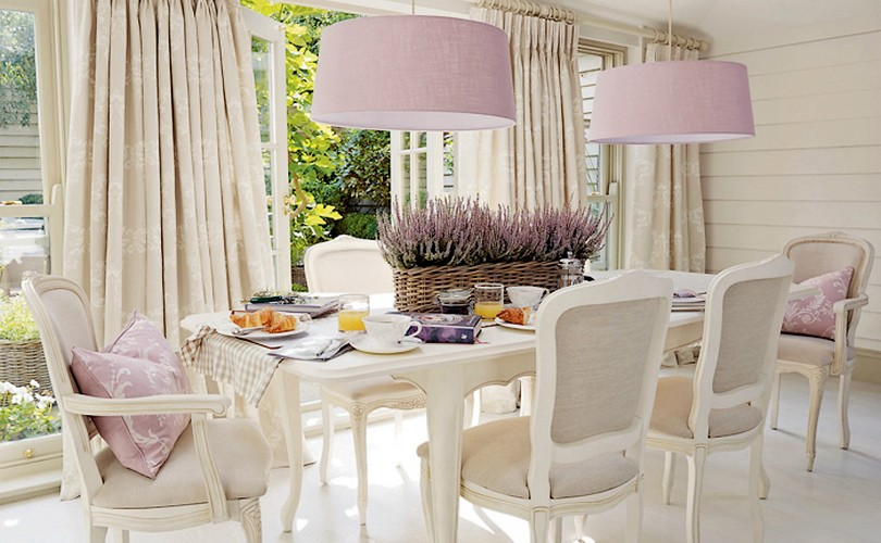 French Garden Dining Room  Wisteria