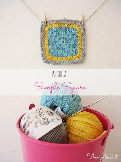 Crochet Squares - Magazine cover