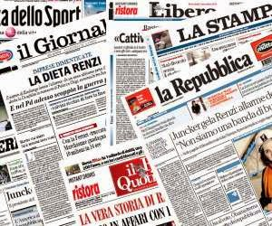 RASSEGNA STAMPA DAL 19 novembre 2014