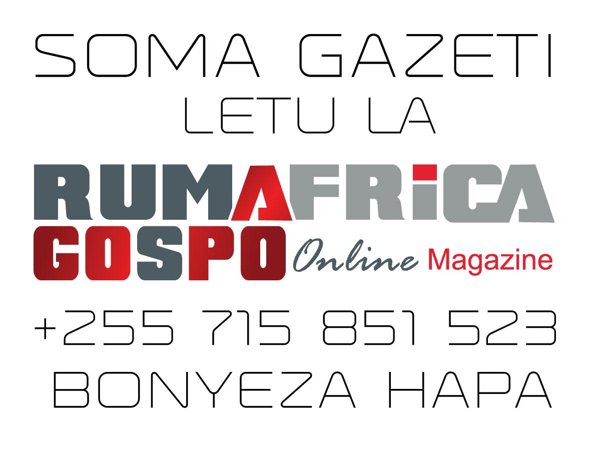 RUMAFRICA Online MAGAZINE