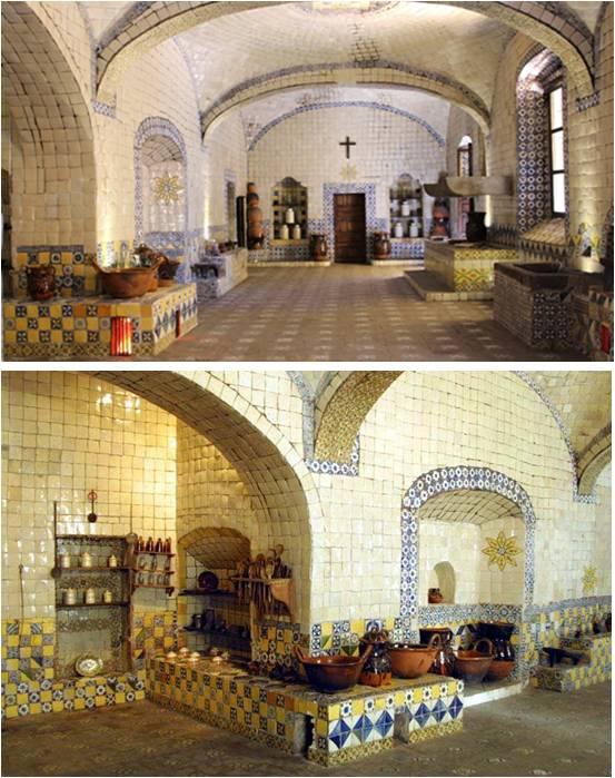 Cocina del Convento de Santa Rosa de Lima - Puebla