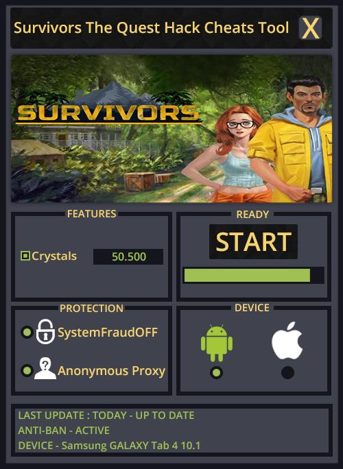 Survivors The Quest Hack