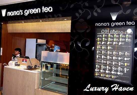 japanese nanas green tea takeaway plaza singapura