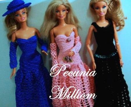 Barbie Moda - Col. 3 por Pecunia MM