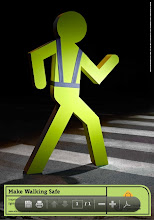 Make Walking Safe posters