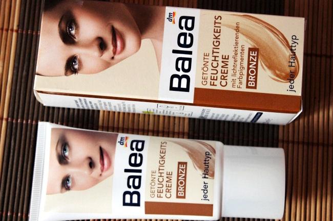Balea tonirana dnevna krema, bronza. Balea tinted moisturizer in bronze. Tinted moisturizers. Tinted face creams.