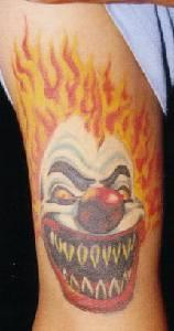 Clown Tattoo Photo Gallery - Clown Tattoo Ideas