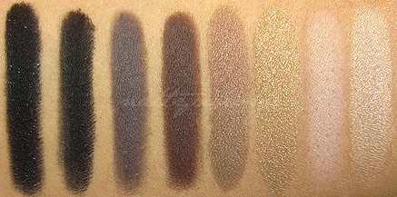 sigma bare palette swatches