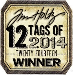 Proud to be a Tim Holtz Winner July 2014