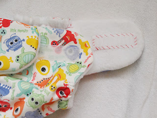 Joanne Rich. Sewing the Cloth Diaper Cover with Velcro Tab Pockets.