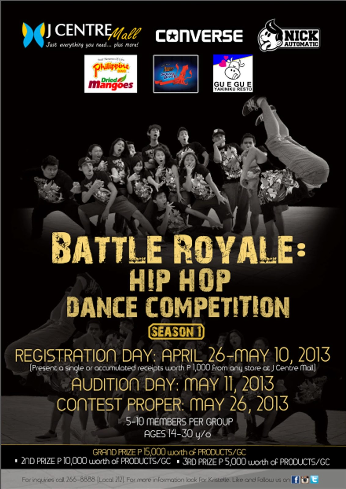 Battle Royale Hip Hop Competition UPDATED POST Changes To Dates