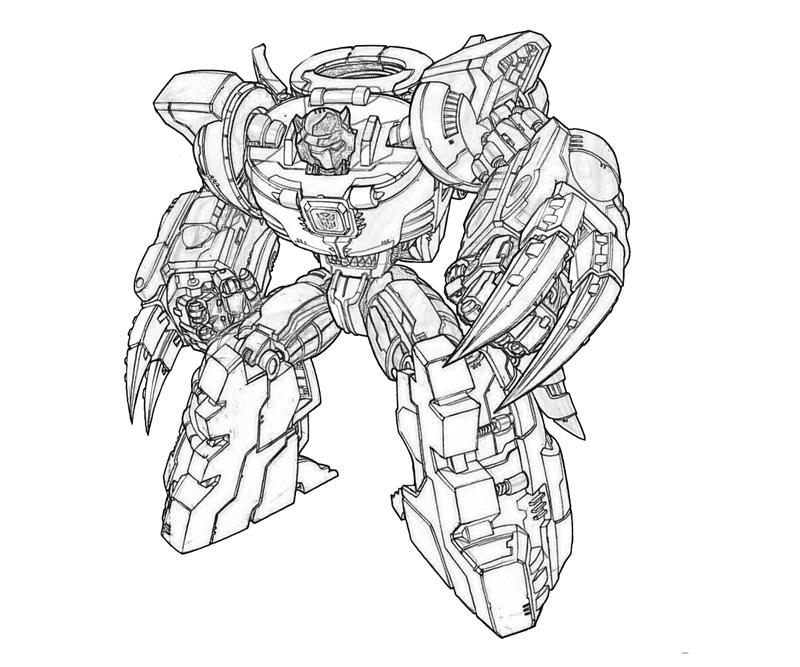Transformers fall of cybertron grimlock weapon mario for Grimlock coloring page