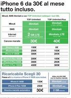 Tre Italia - Offerta iPhone 6 e iPhone 6 Plus