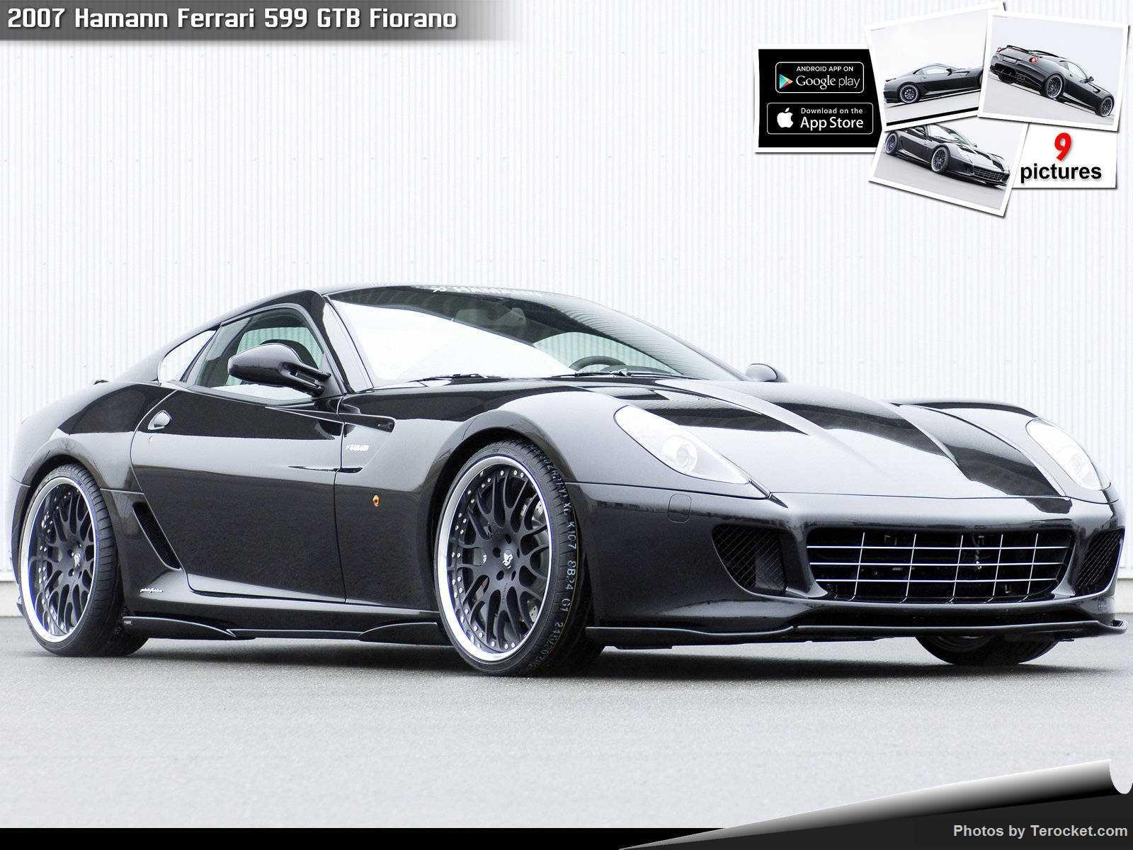 Hình ảnh xe ô tô Hamann Ferrari 599 GTB Fiorano 2007 & nội ngoại thất