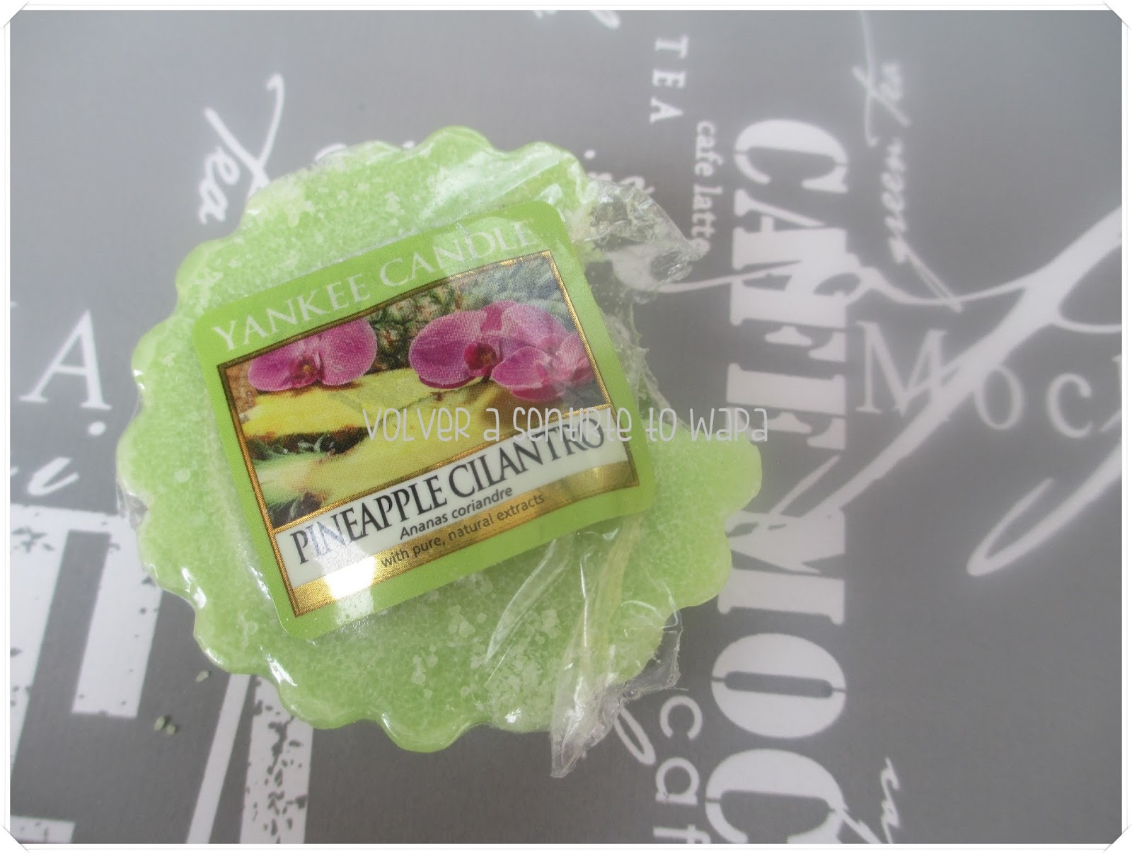 Tart Yankee Candle de piña y cilantro