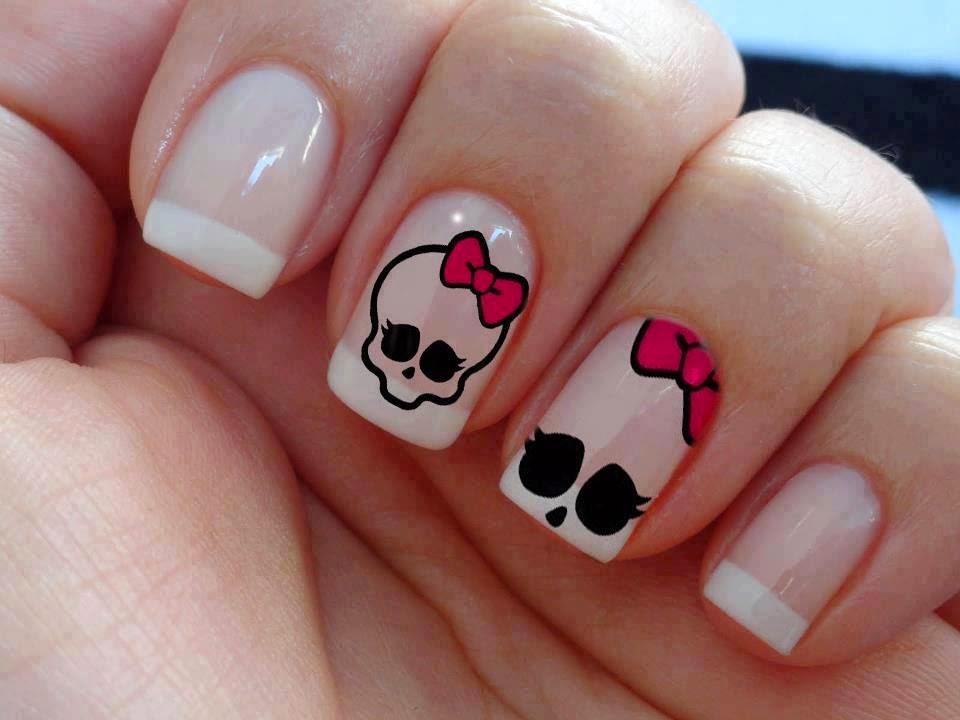 Imagenes de uñas decoradas, diseños y estilos de uñas. Lindas uñas con figuras