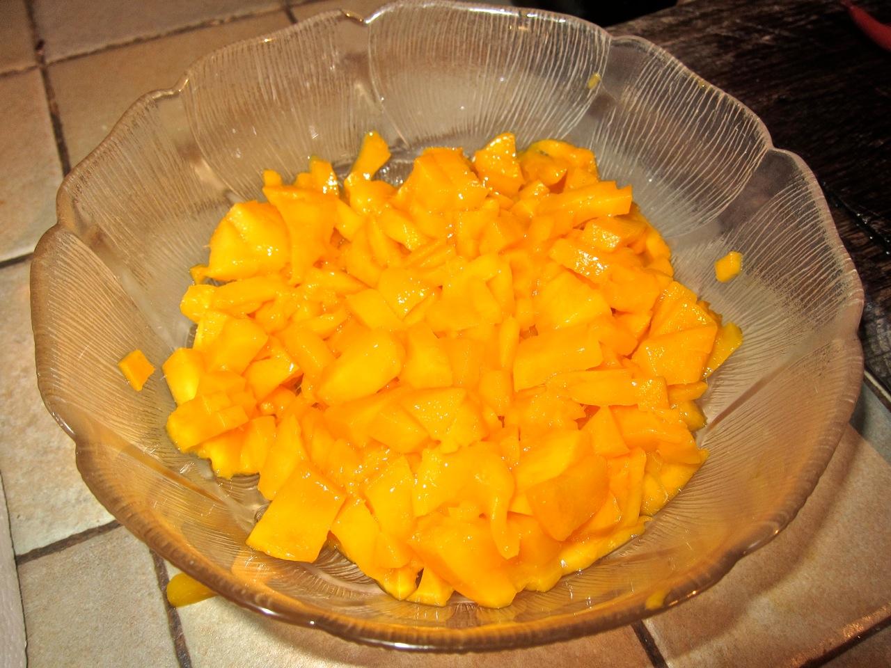 how to make a cut mango ripe