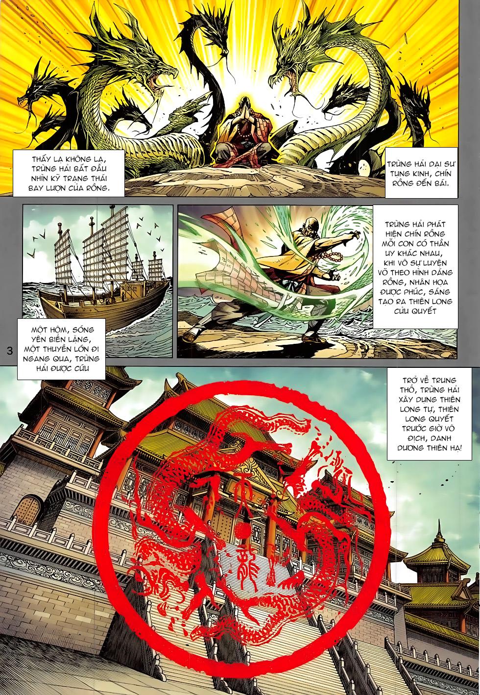 Tân Tác Long Hổ Môn chap 807 Trang 3 - Mangak.info
