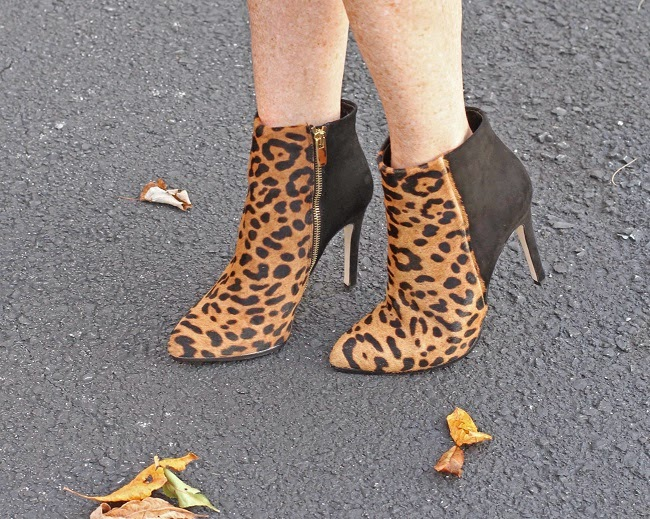 club monaco calfhair booties