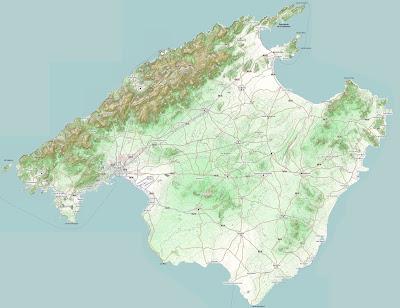 Landkarte Mallorca Bilder
